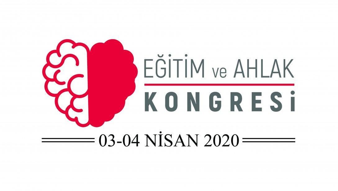 Eğitim ve Ahlak Kongresi 03-04 Nisan 2020 tarihlerinde yapılacak.